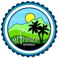 al Fresco Springs laguna hot spring logo